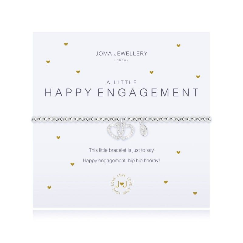 Joma Jewellery engagement gift wedding married proposal i do heart