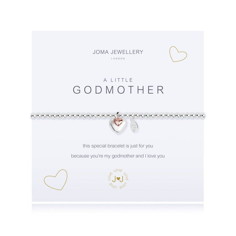 Joma Jewellery Gift Bracelet Godmother Christening