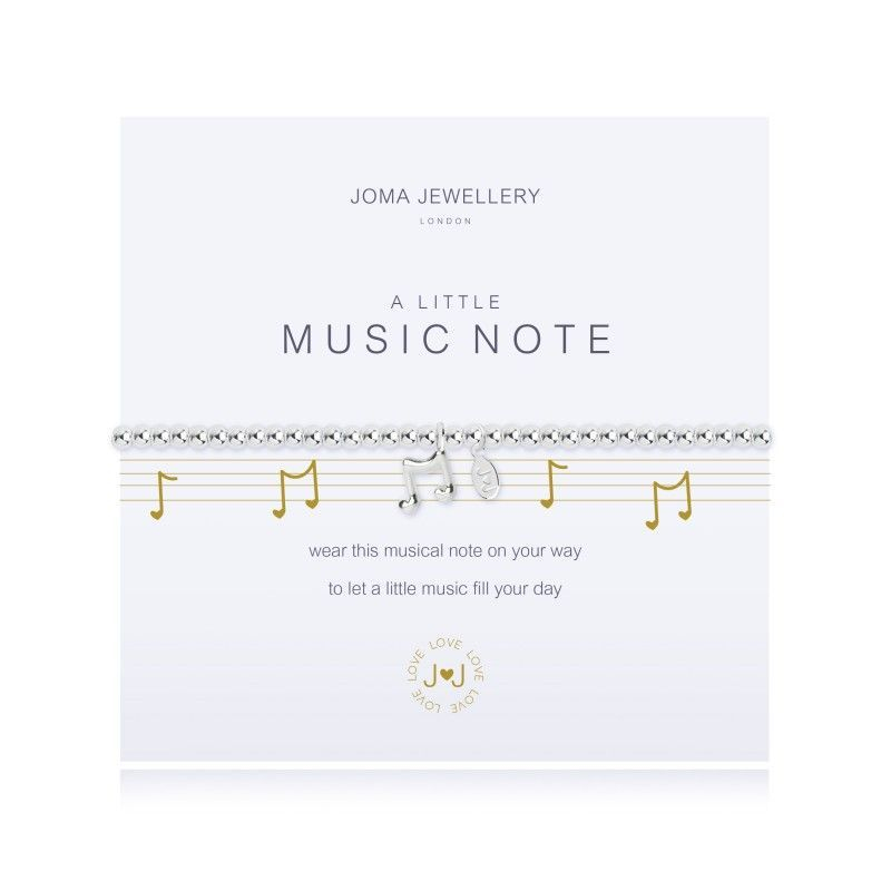 Joma Jewellery Music gift bracelet band artist charm
