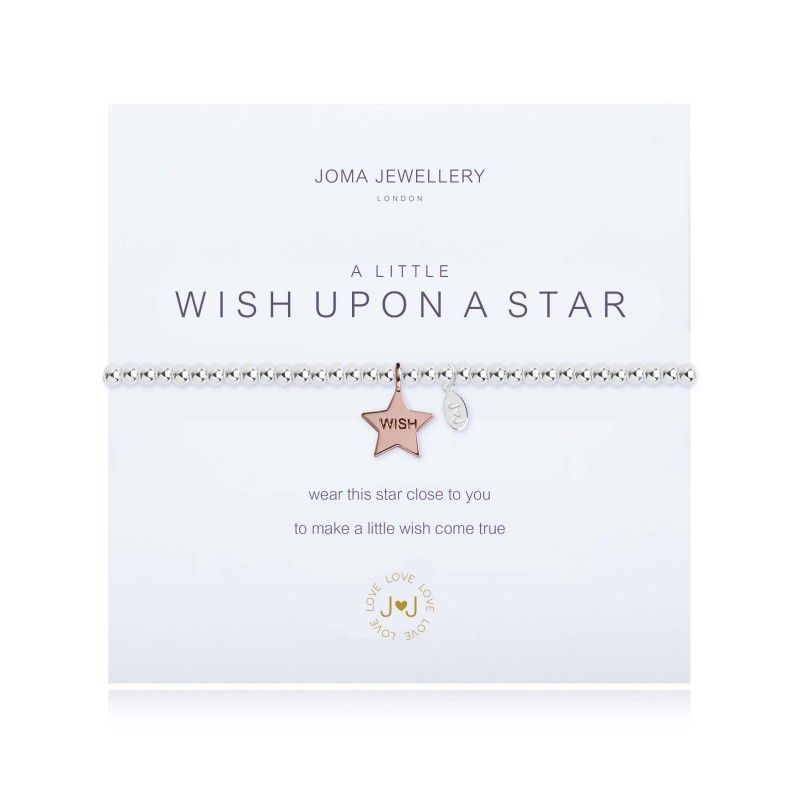 Joma Jewellery Bracelet Gift Star Rose Gold