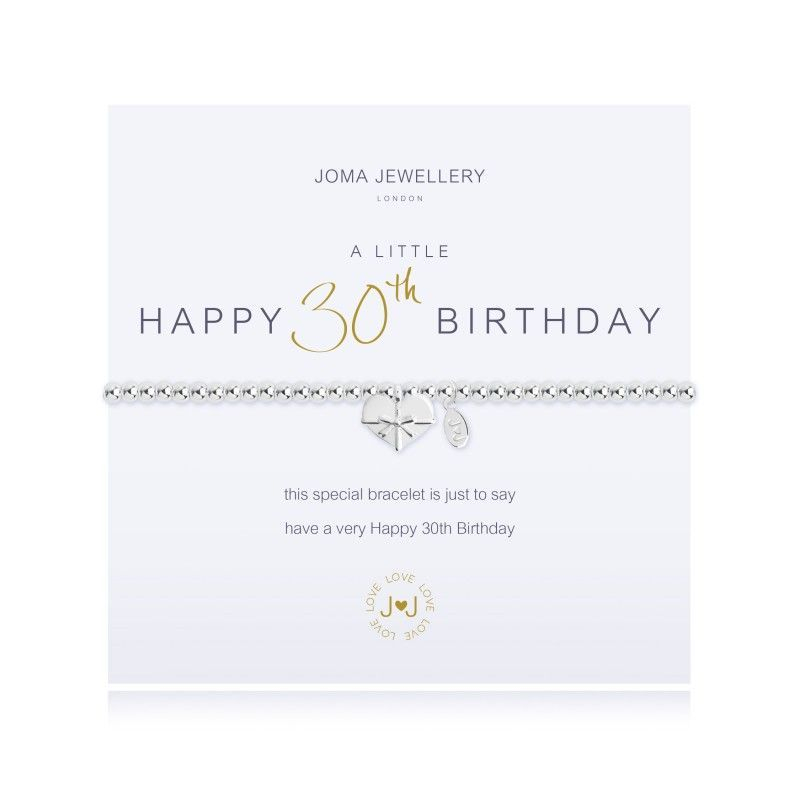Joma Jewellery birthday 30th gift gold silver heart