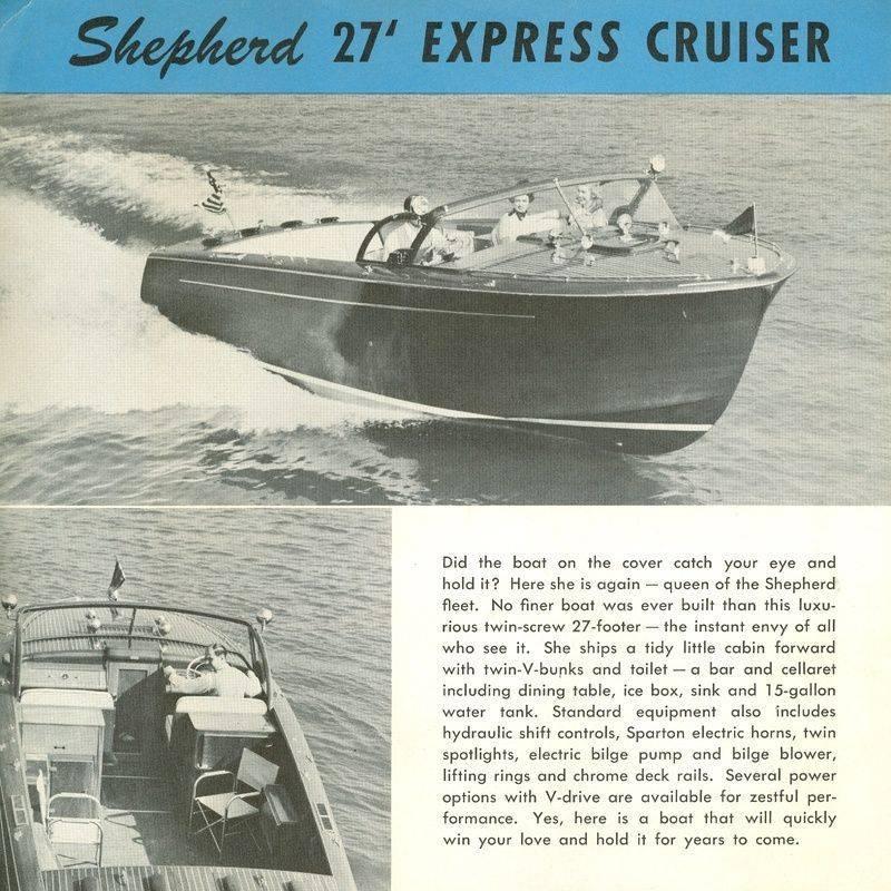 Shepherd 27' Express Cruiser