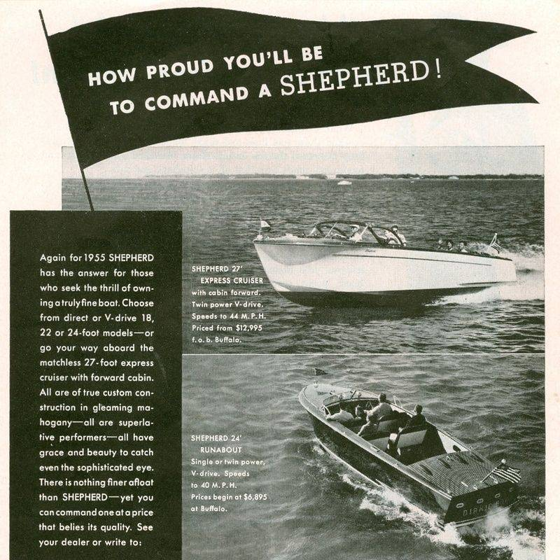 Antique Shepherd Boats