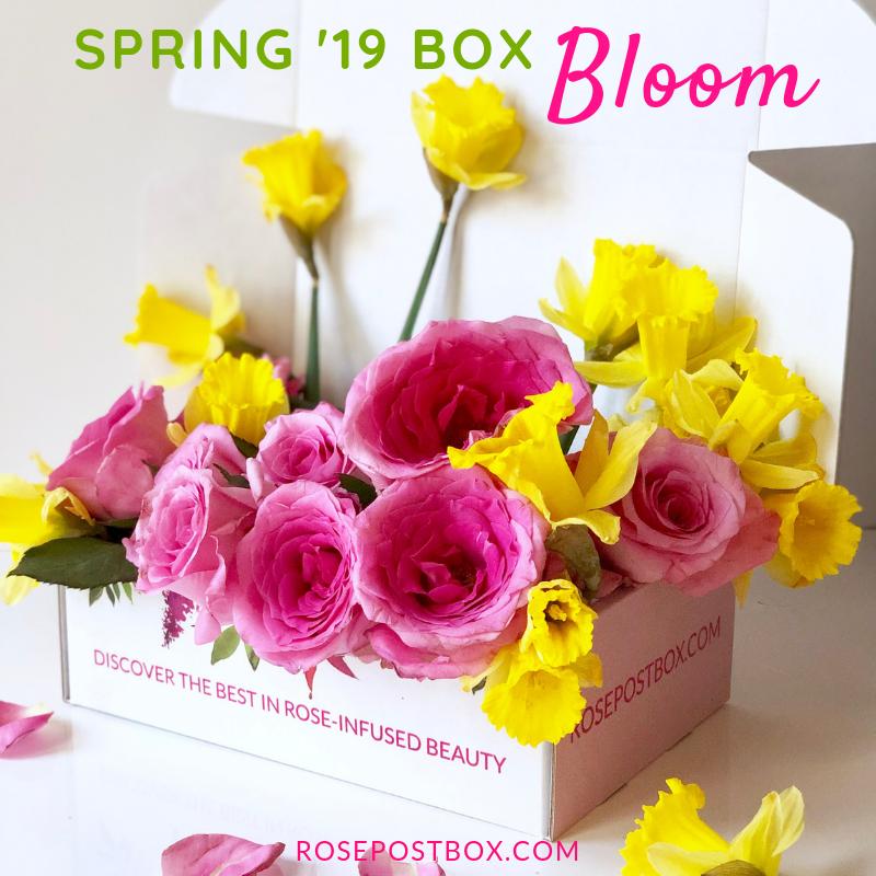 rose-infused skincare treats, rose skincare, rose-infused beauty, eco beauty box, botanical skincare, natural skincare
