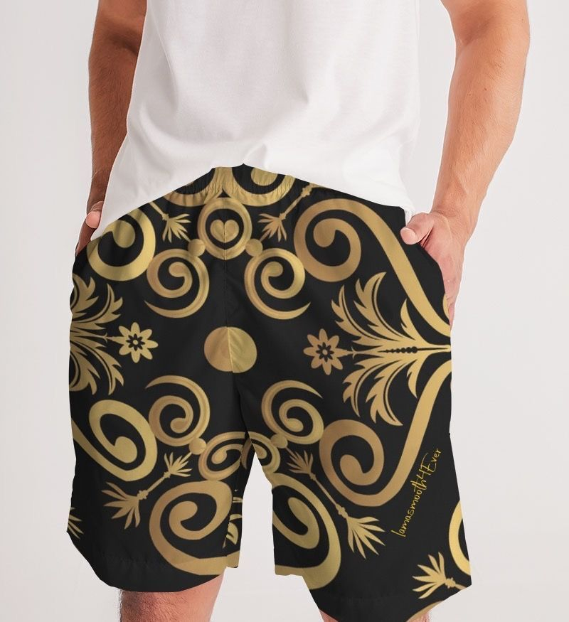 Platinum Gold Men's Jogger Shorts