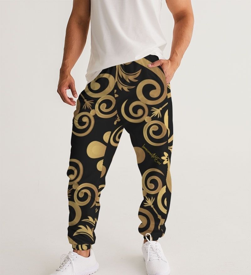 Platinum Gold Men's Track Pants
