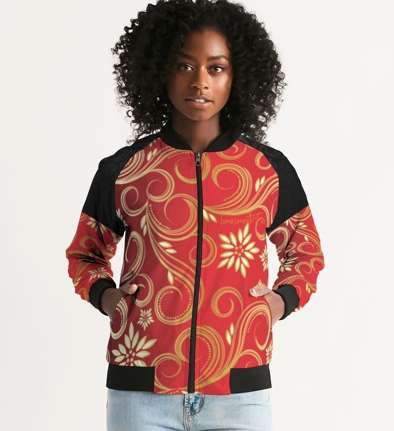 Red Plum Women's Bomber Jacket
