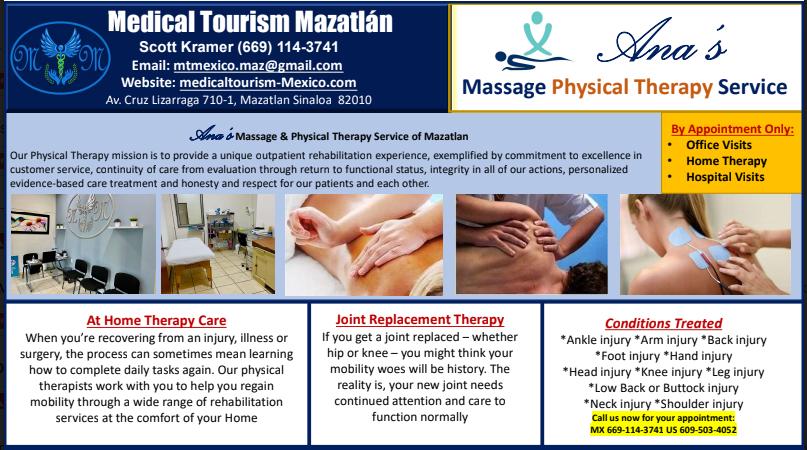 Physical Therapy mazatlan