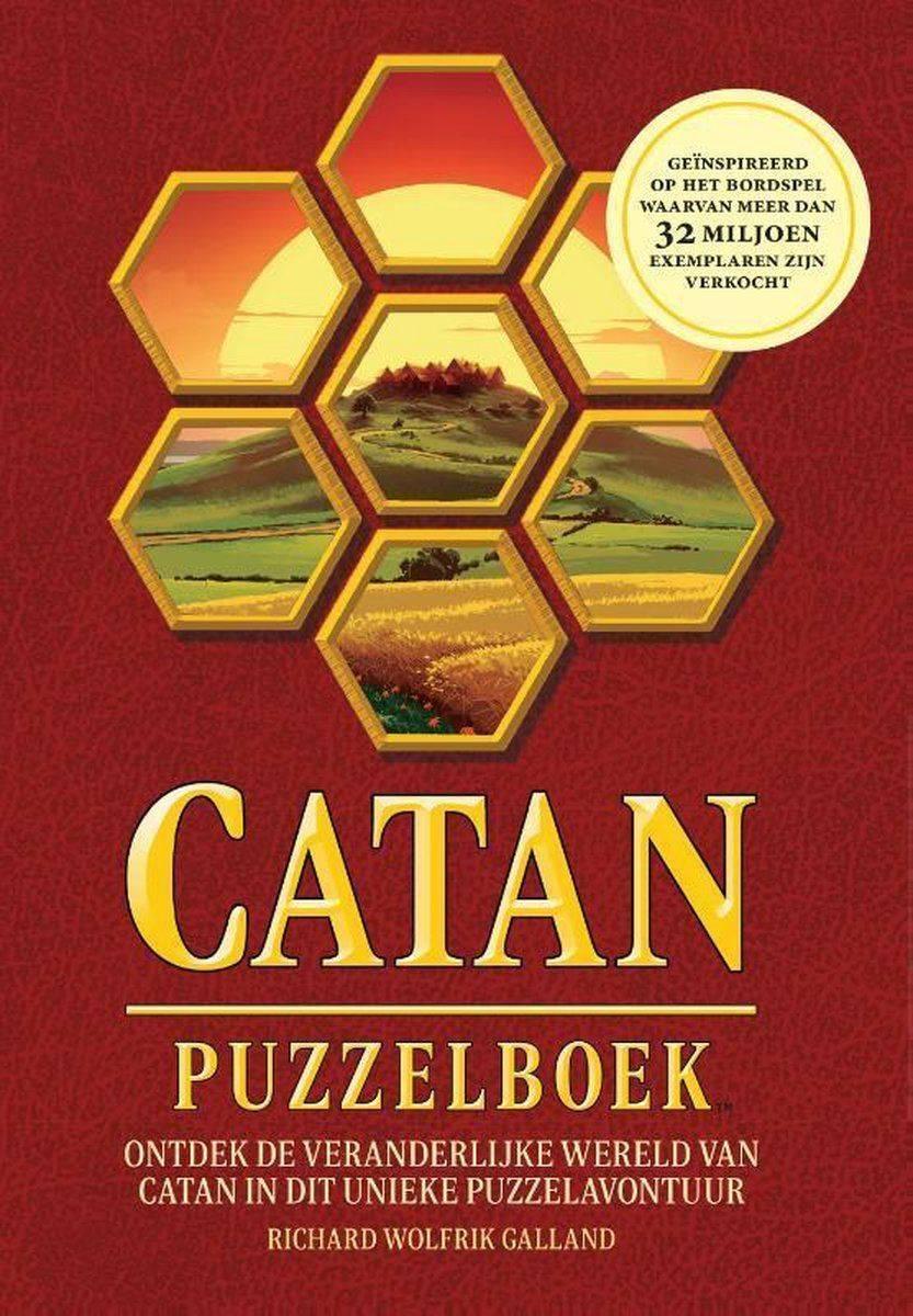 Cover van Catan Puzzelboek, vertaald door Anne Oosthuizen