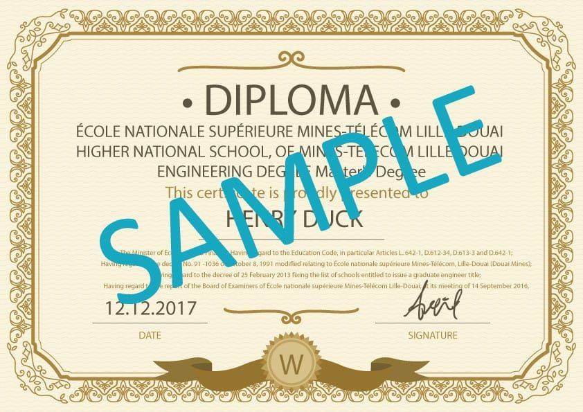 Certified Translation Diploma