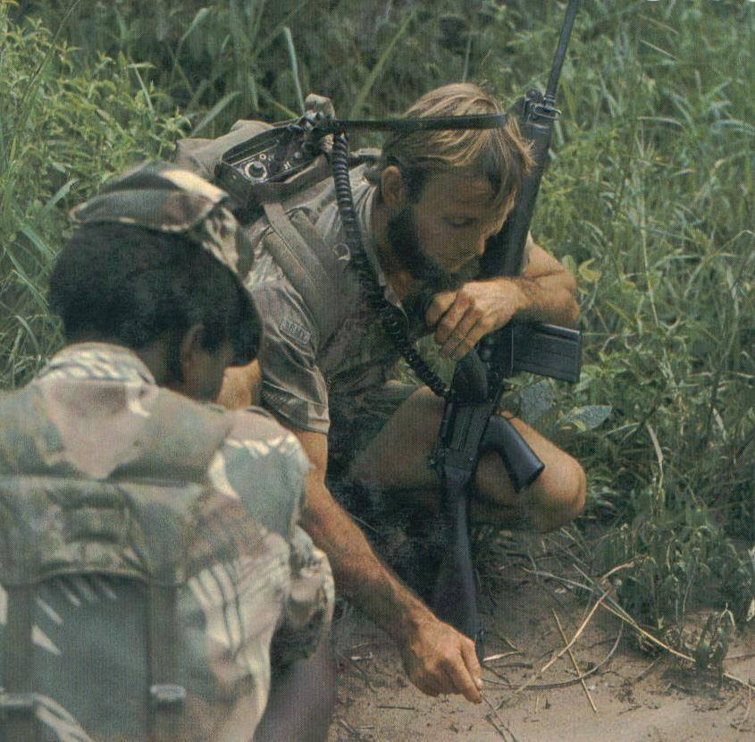 Rhodesian Soldiers, Rhodesia, combat tracking, War is my business, wimb