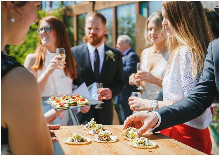 Wedding Food Catering at Coed Weddings