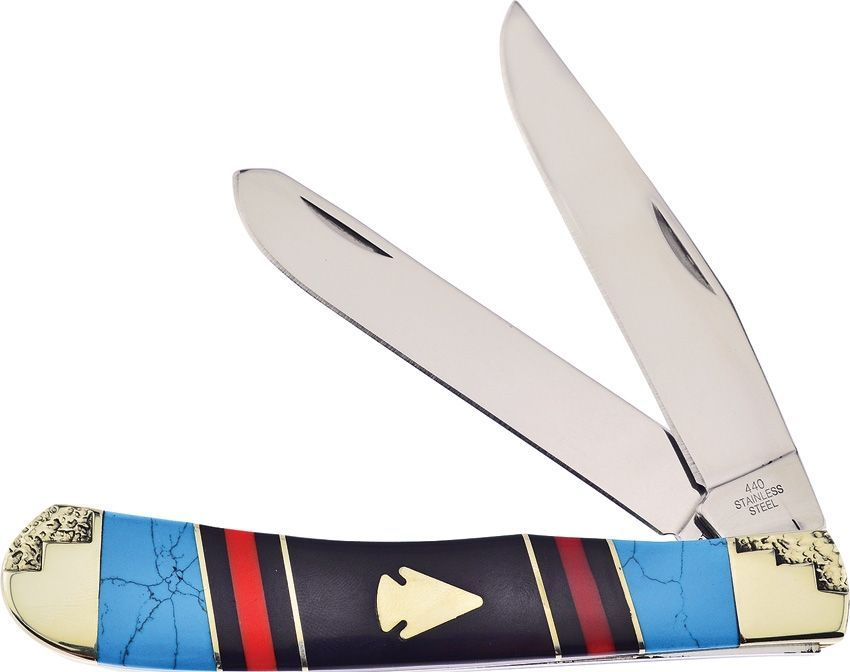 trapper , arrow head , pocket knife , turquoise