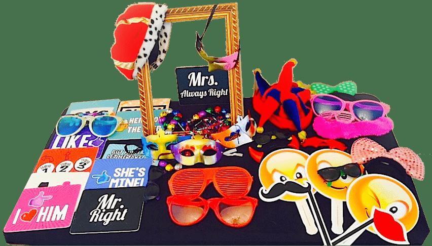 Pro Photo Booth Eventos accesorios