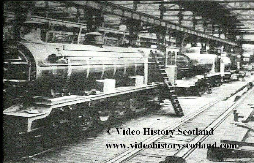 DVD video film classic steam train locomotives scotland scottish glasgow edinburgh