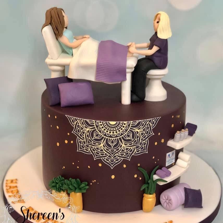 Reflexology Cake