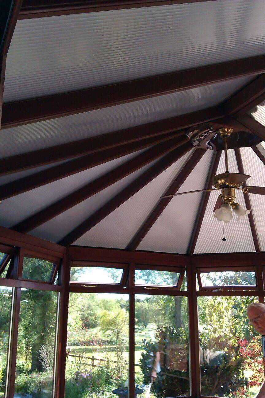 solar window film for polycarbonate roof
