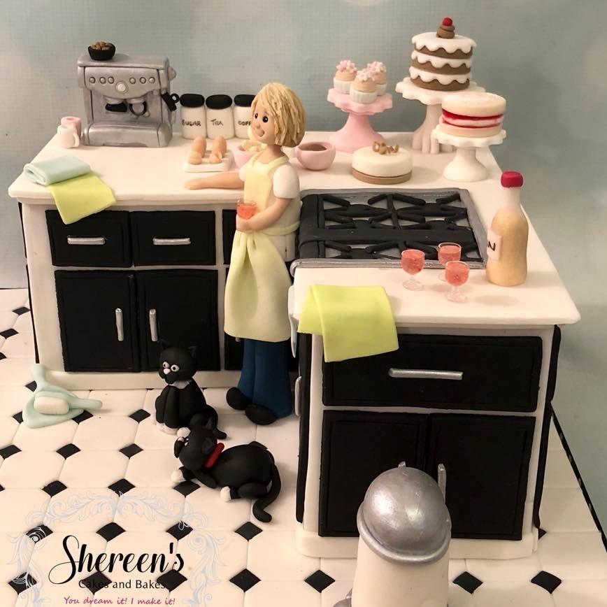 Novelty Kitchen Birthday Cake Cats Character Coffee Machine