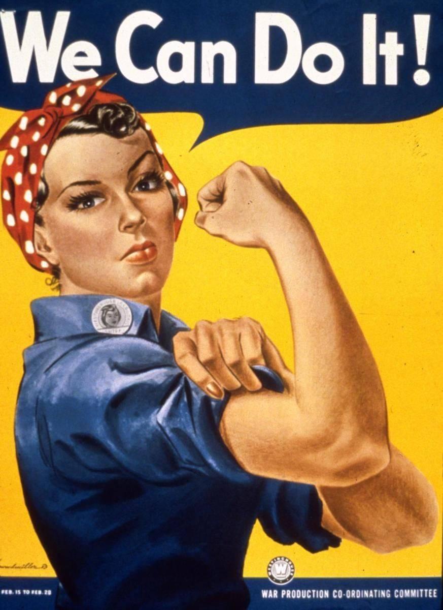 Rosie the Riveter, civilian workforce, war is my business