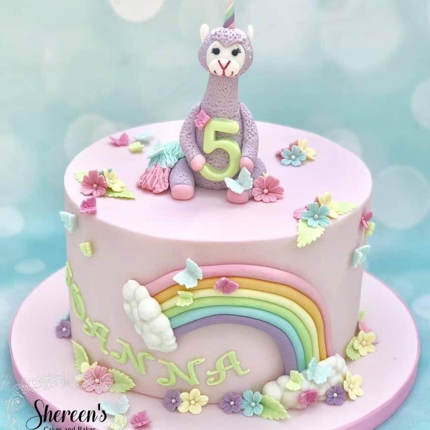 Llamacorn Cake