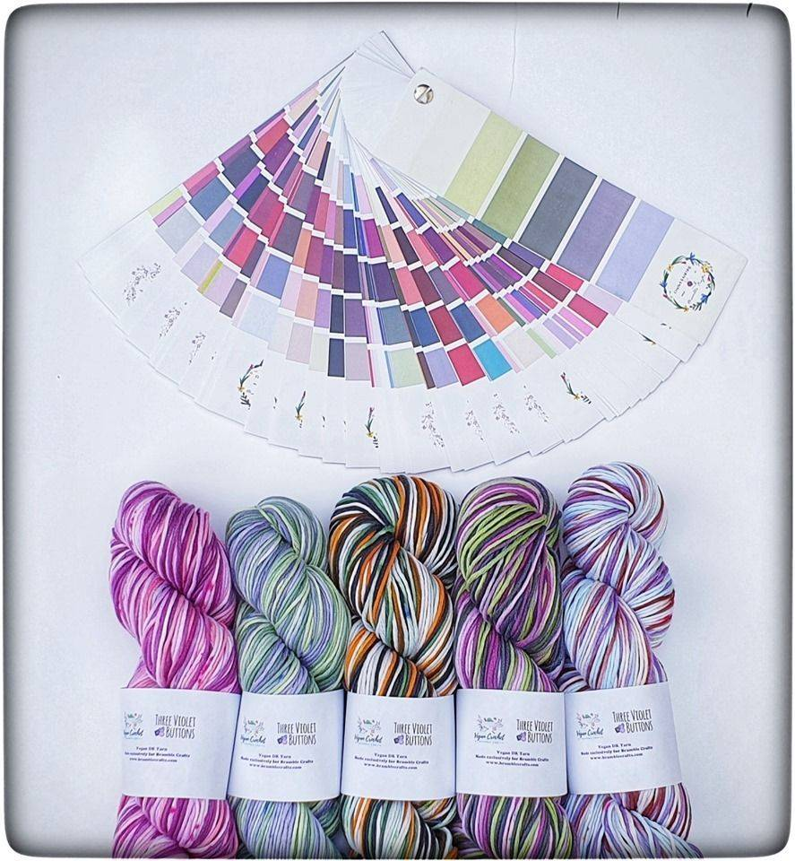 Craft subscription box, Bramble Crafts, vegan yarn, yarn club, yarn subscription box