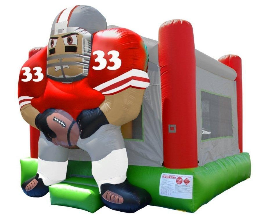 Football Player Bounce House