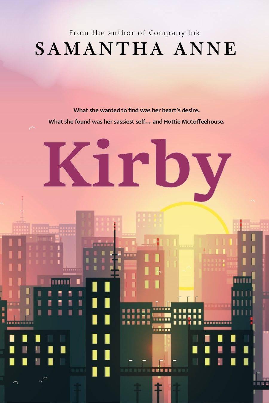 kirby, samantha anne, crimson romance, e-books, books, contemporary romance, rone award finalist