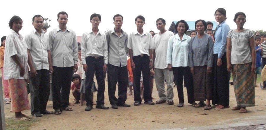 staff in Cambodia