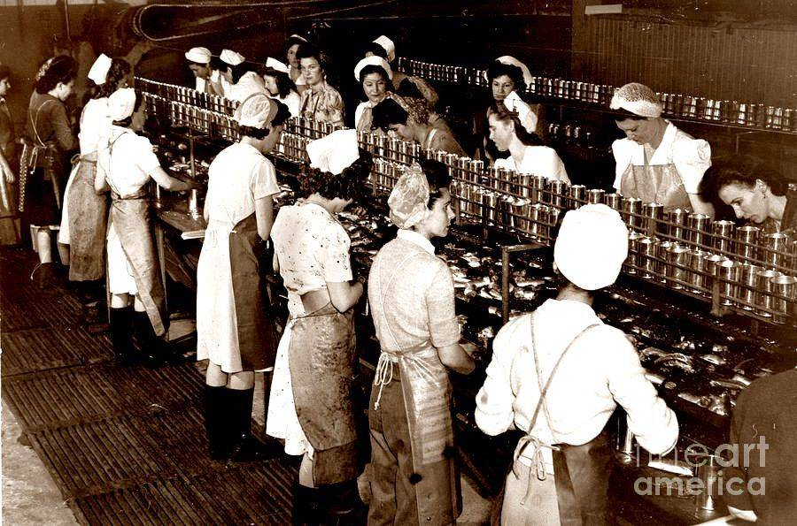 Cannery Workers, Cannery Row, Monterey, CA