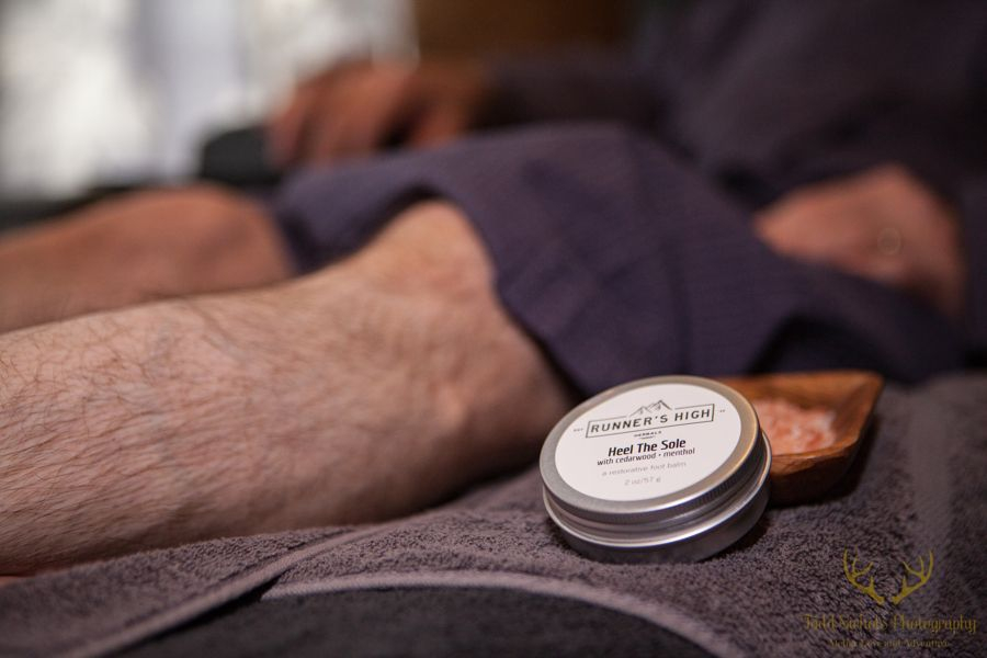 This CBD experience with leave your feet pain free and lighter than air