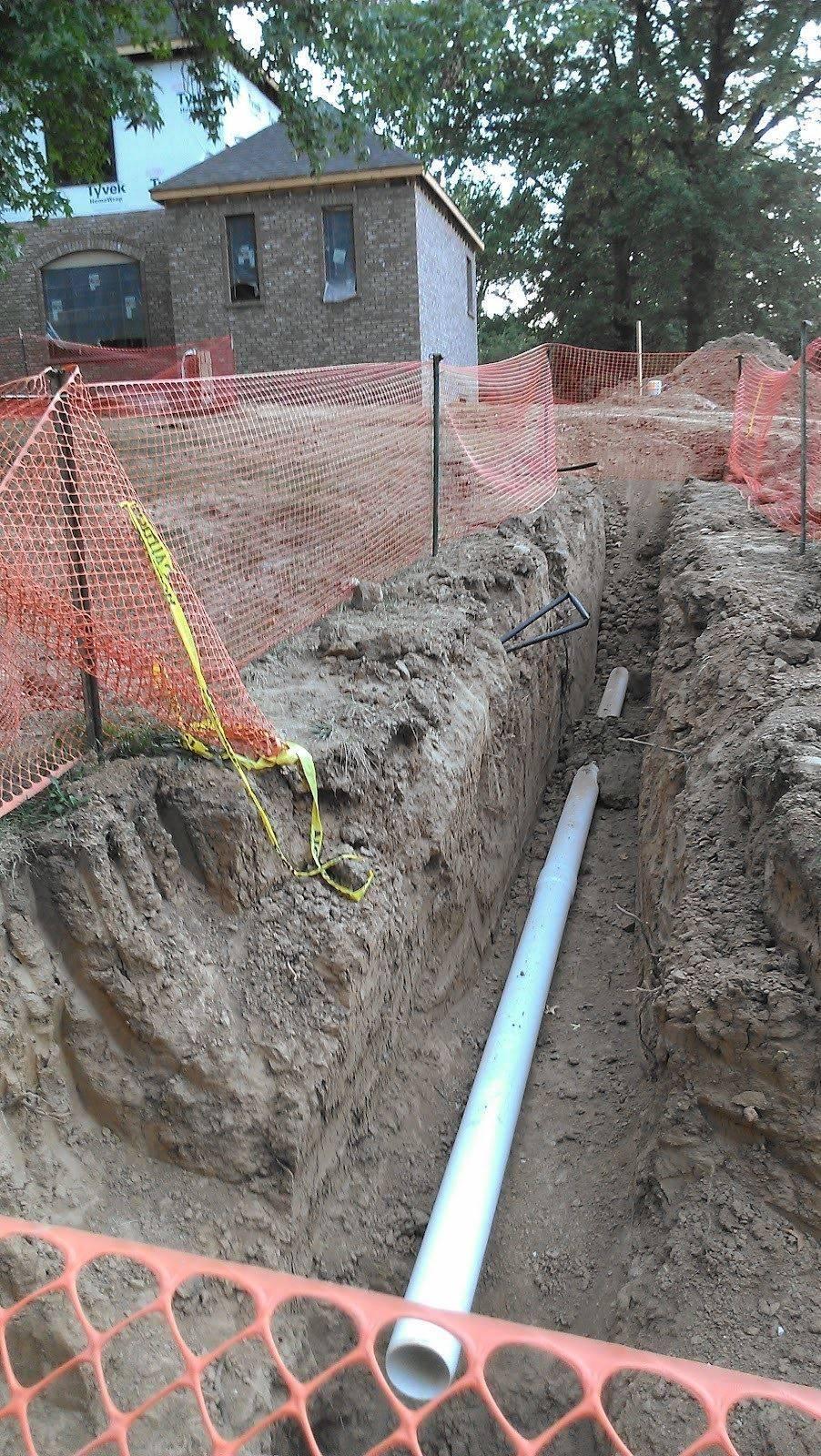 Sewer line repair replaced j downs plumbing llc