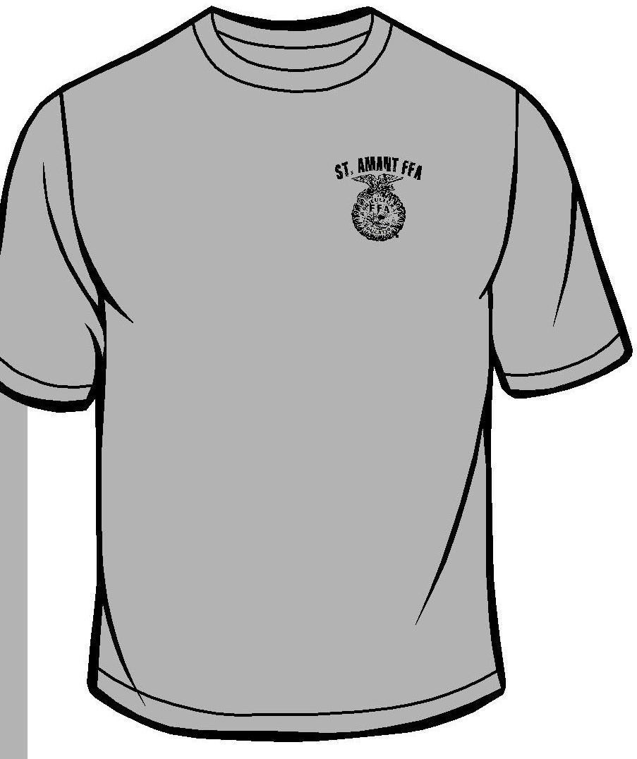Front of Long & Short sleeve