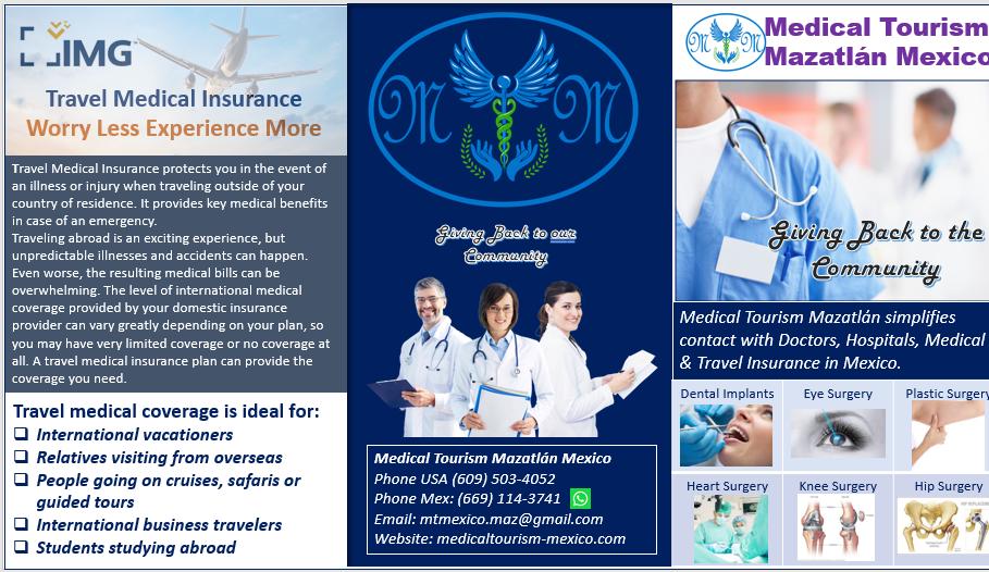 Medical Travel Insurance Mazatlan Mexico