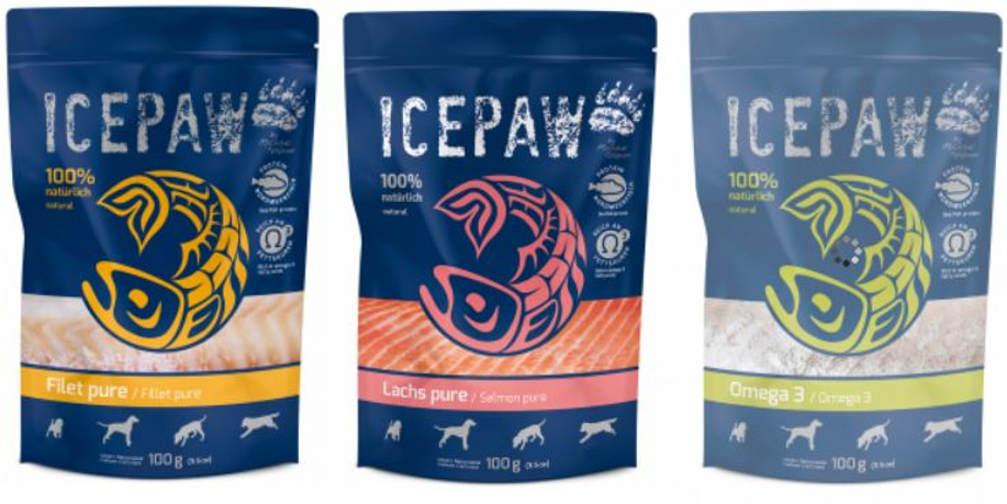 Icepaw wetfood Filet Pure Salmon Pure Omega 3