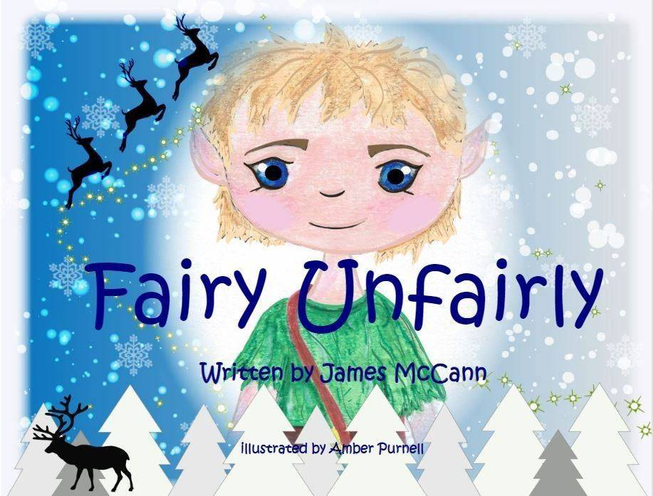 book, children's book, Christmas, funny, Fairy, Elf