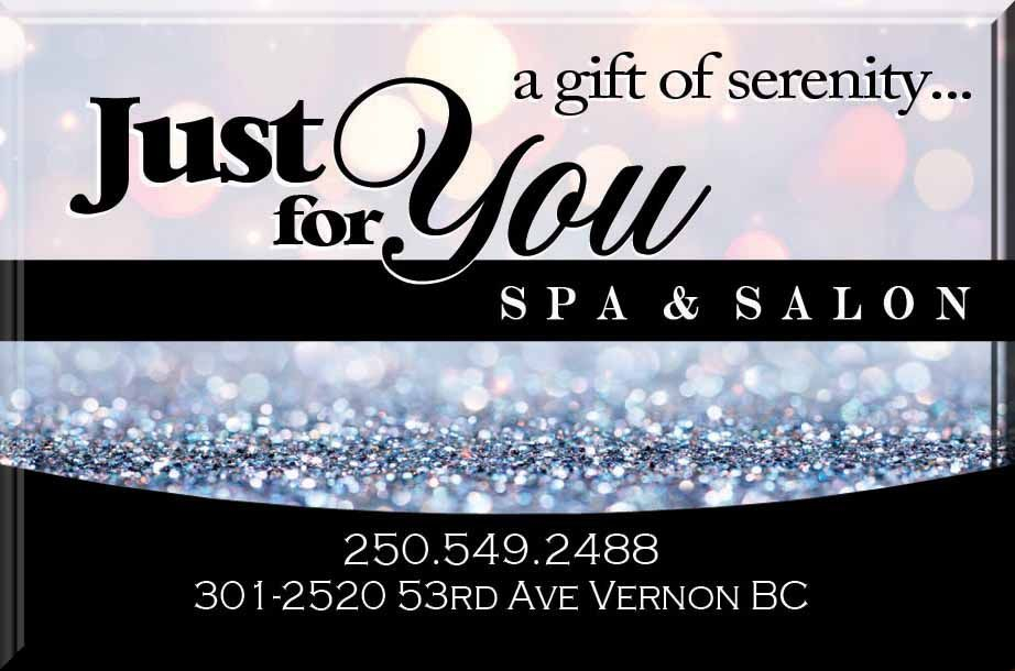 Just For You Spa & Salon Gift Cards