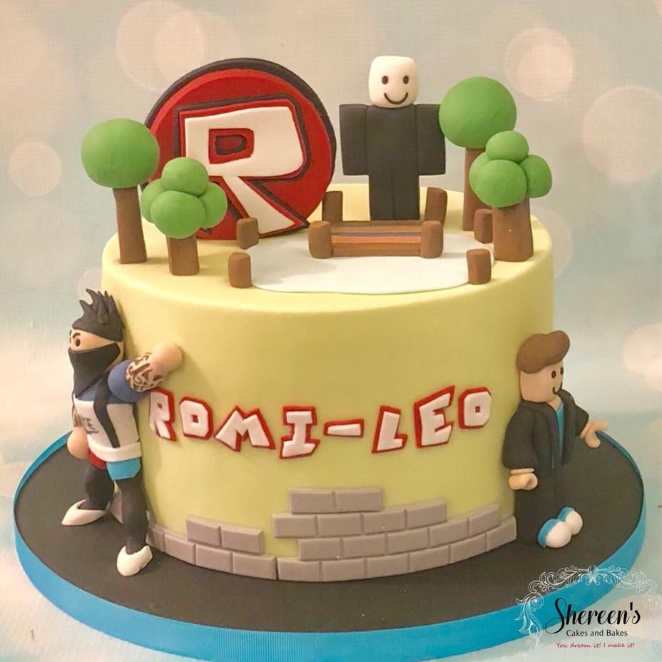 Roblox Birthday Cake Avatar Tree