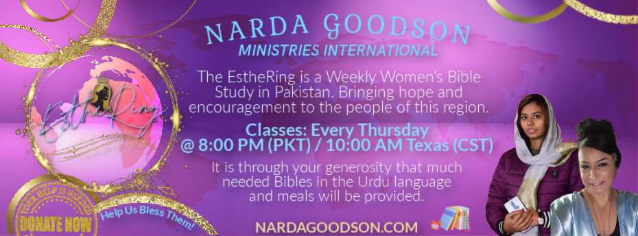 The EstheRing is a Weekly Women's Bible Study across the globe