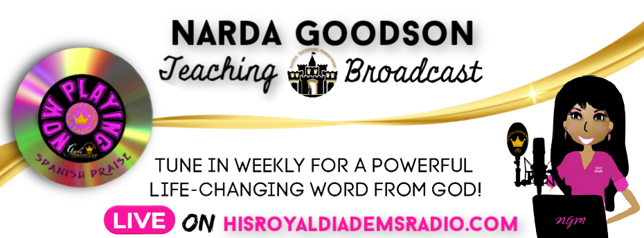 Tune in Weekly for a Powerful Life-Changing Word from GOD!