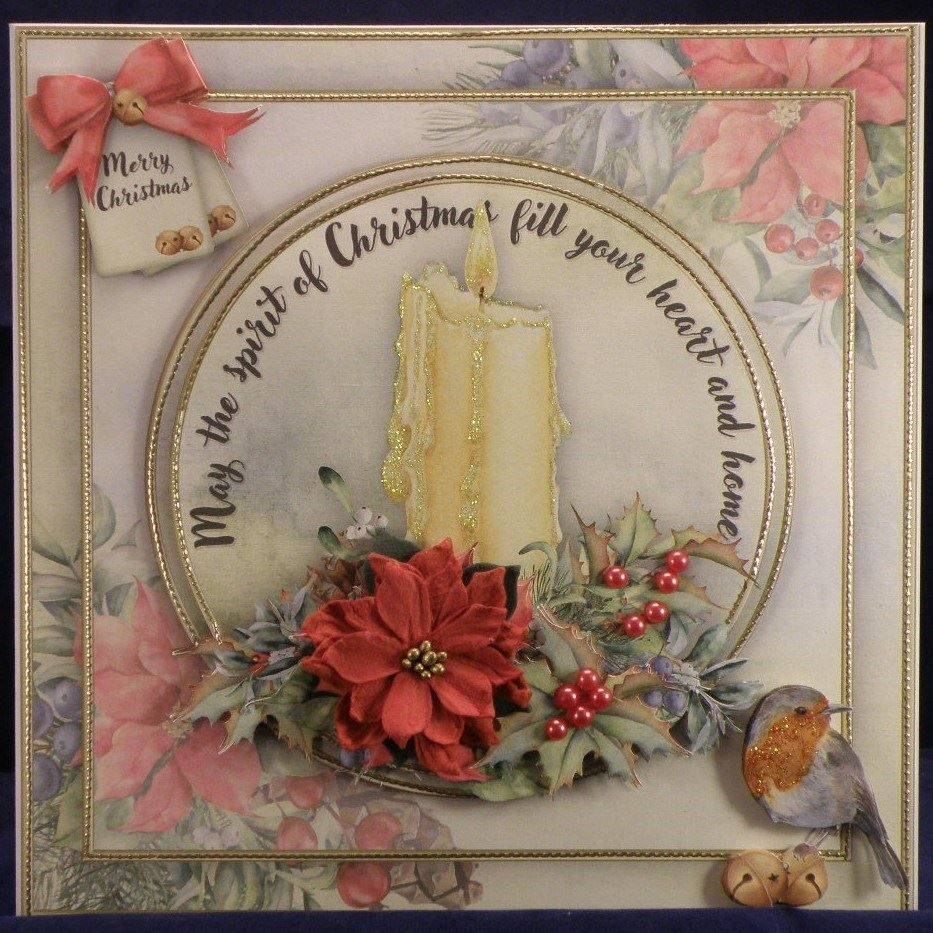 Christmas Candle cup988049 72307
