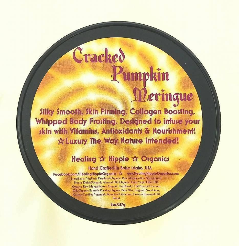 Cracked Pumpkin Tumeric, Healing Hippie Organics, Boise, Idaho, USA