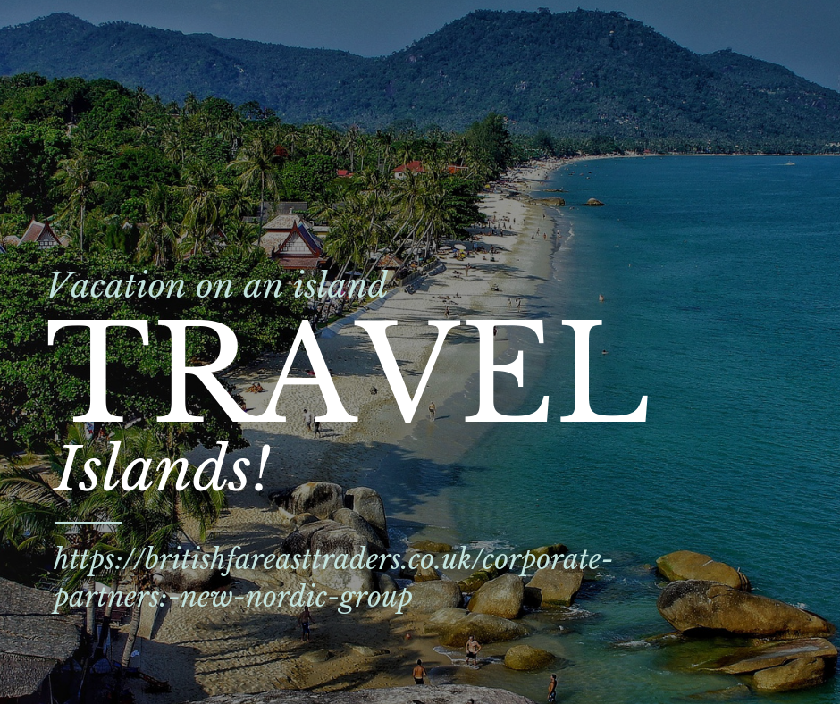 travel. vacation. island hopping. real estate investments