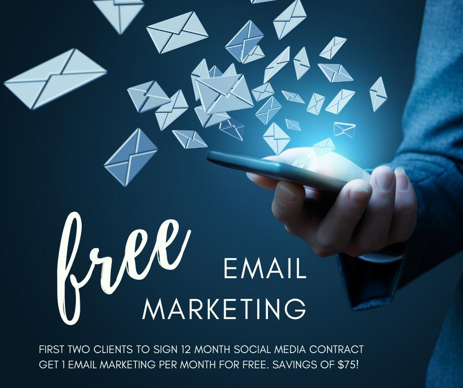Free Email Marketing Promo