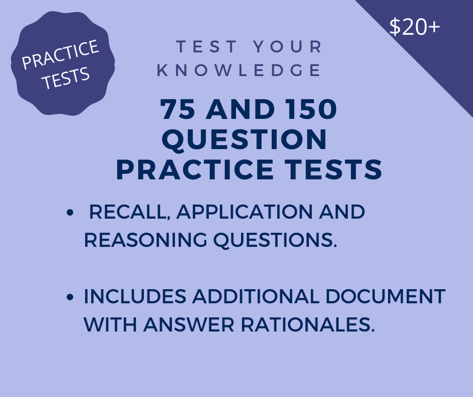 Practice Test for Course