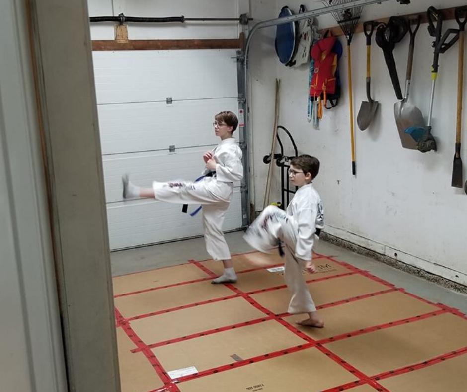 Online Kids Karate Classes in St.Marys Ontario