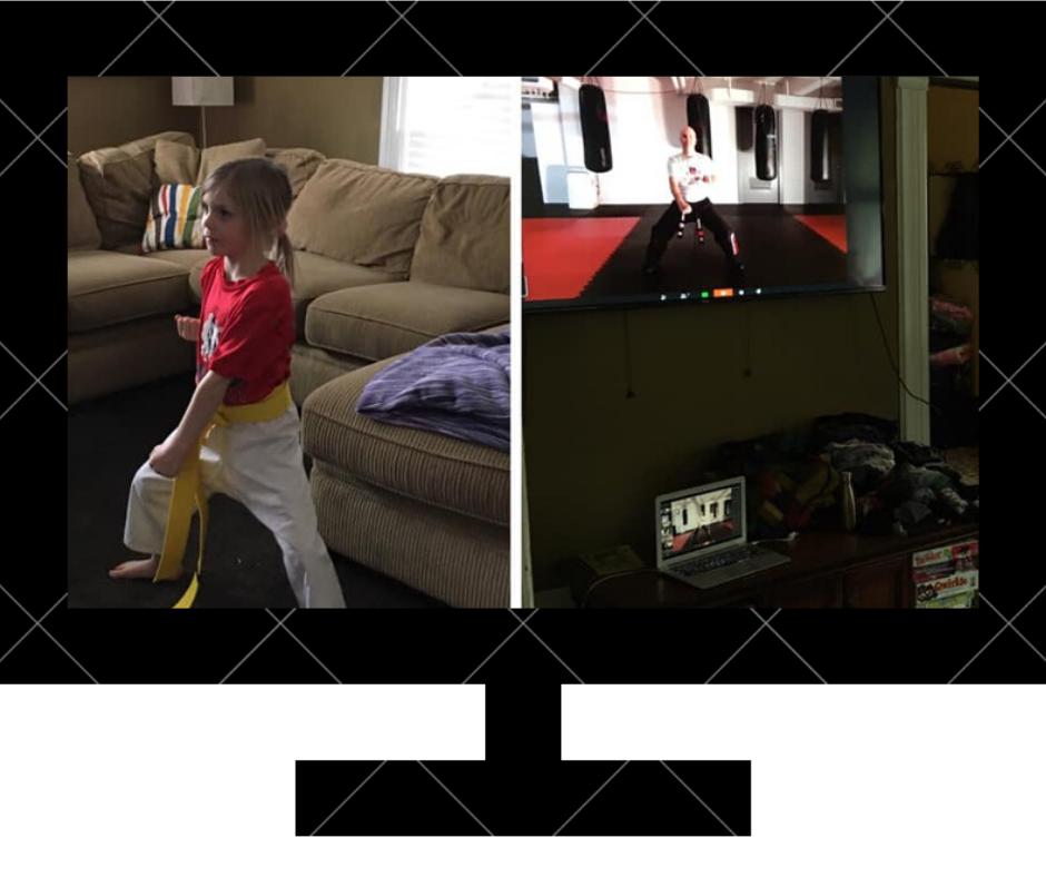 Register Your Child for Online Kids Karate Classes