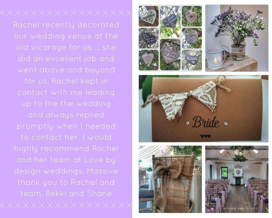 Wedding venue decorator hampshire