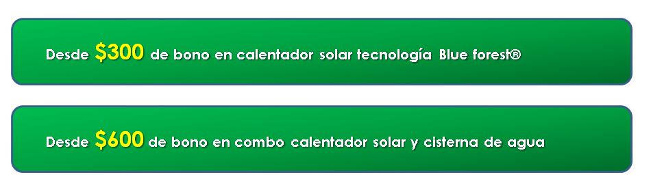 Bonos y descuento - Universal Solar