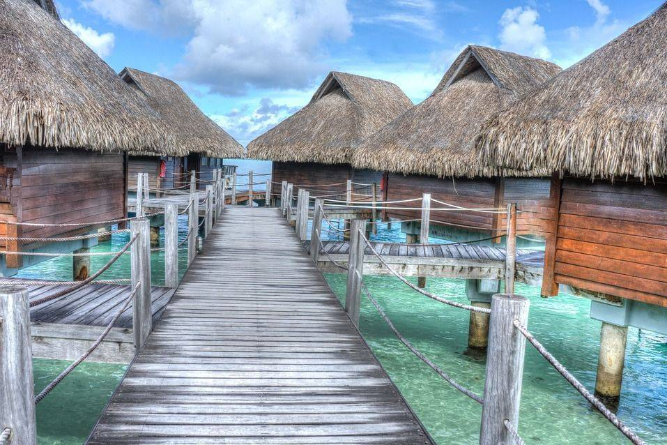 Tahiti Over Water Bungalows