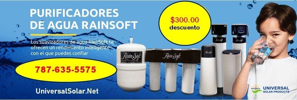 Purificador osmosis inversa  Rainsoft